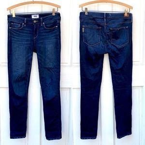 PAIGE Skyline Skinny Ankle Jeans in Howard Wash 27